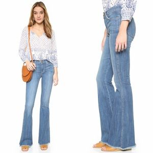 Current Elliott | High Rise Low Bell Jeans 31